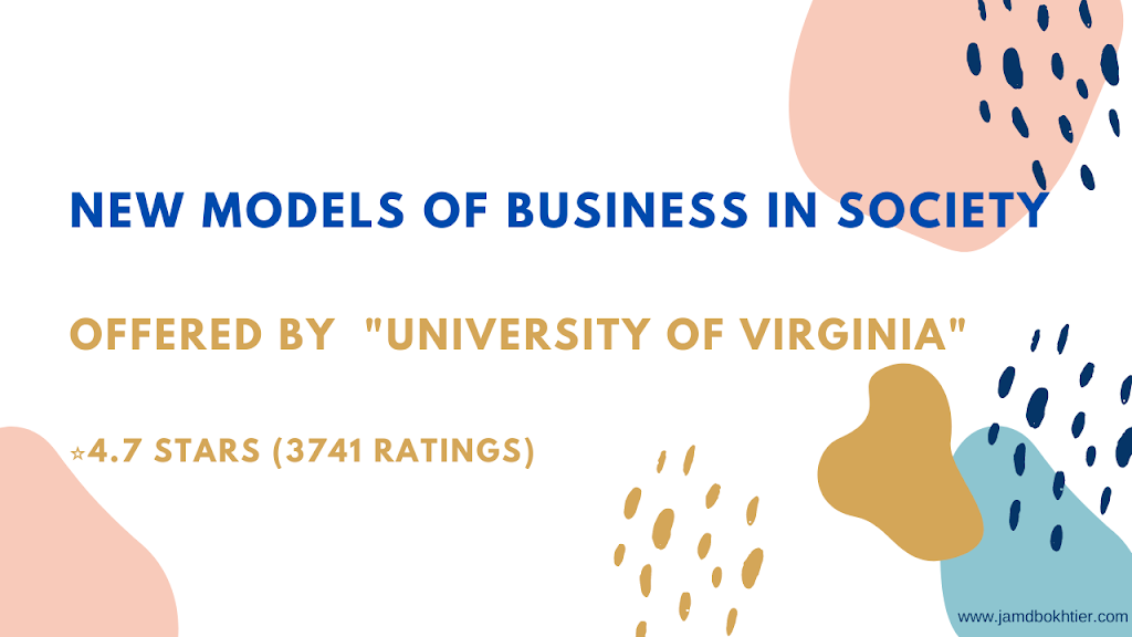 Coursera New Models of Business Society Quiz