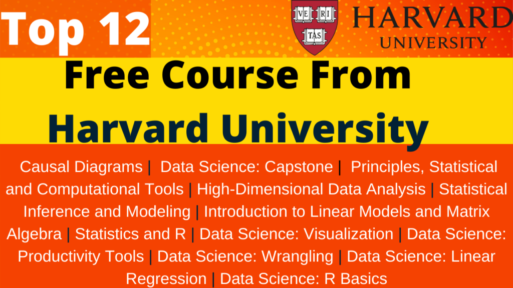 Top Free Course On Data Science By Harvard