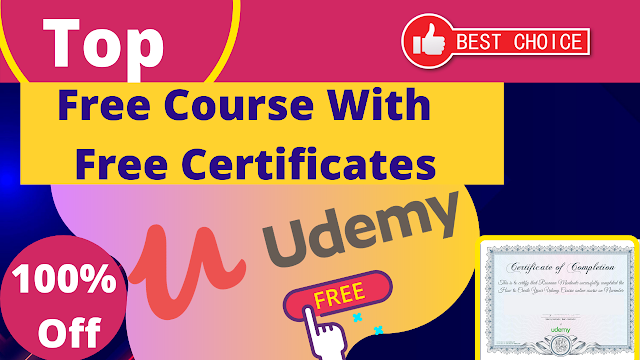 All Udemy Free Certification Courses